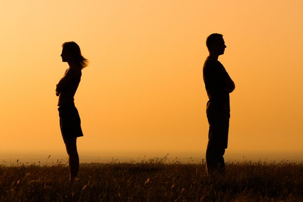 astrologically incompatible couple driven apart