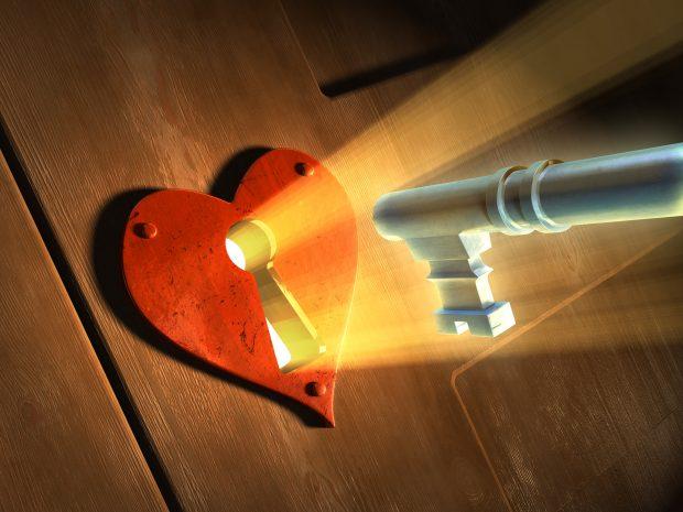 unlock the key to his heart